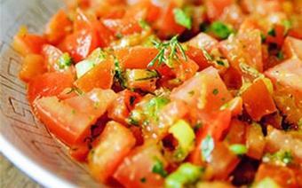 Salad cà chua kiểu Ma rốc