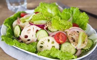Salad củ sen