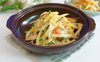 Salad dưa lê thịt gà