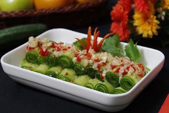 Salad dưa leo chua cay giòn mát