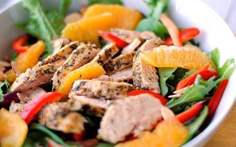 Salad gà và quýt