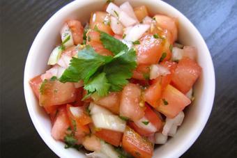 Salad hành tây cà chua