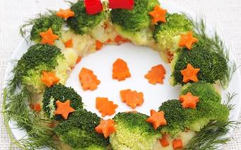 Salad khoai tây vòng nguyệt quế