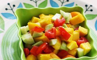 Salad lạc xoài