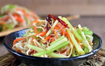 Salad nấm kim giòn ngọt
