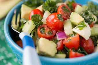 Salad rau quả ăn kiêng