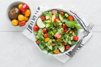 Salad rau quả giảm cân