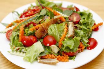Salad vịt quay