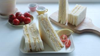Sandwich trứng mayo