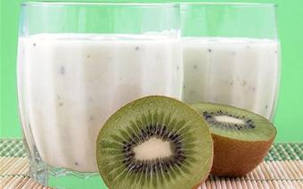 Sinh tố dừa kiwi