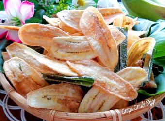 Snack chuối xanh