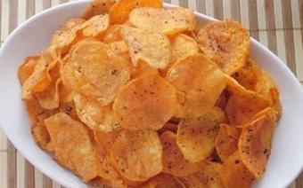 Snack khoai lang tẩm rong biển