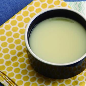 Soup khoai lang cho trẻ
