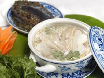Súp bào ngư hải sản