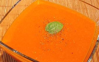 Súp cà chua hành tây