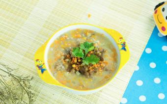 Súp khoai tây thịt bò cho bé biếng ăn