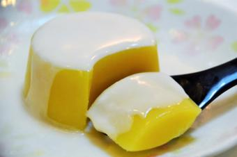 Thạch xoài sữa dừa