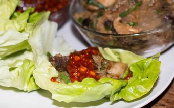 Thịt ba chỉ xào kiểu Hàn