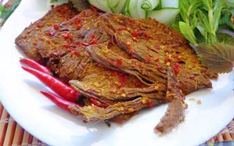 Thịt bò khô cay nồng
