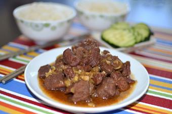 Thịt bò kho sả