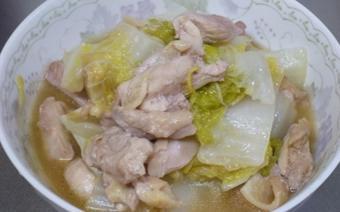 Thịt gà xào cải thảo