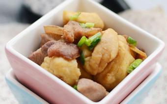 Thịt ram đậu hũ