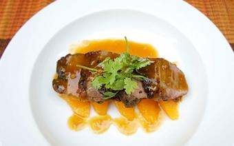 Thịt vịt sốt cam