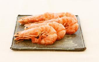 Tôm luộc kiểu Nhật - Japanese simmered shrimp