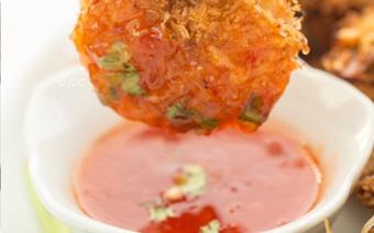 Tôm tẩm dừa nướng