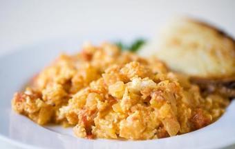 Trứng chiên kiểu Ý