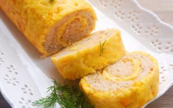 Trứng cuộn thịt gà