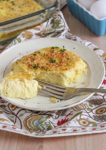 Trứng omelet nướng