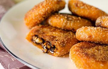 Bánh bao bí đỏ