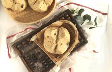 Bánh bao đường nâu đậu nành