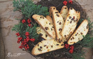 Bánh Biscotti hạnh nhân