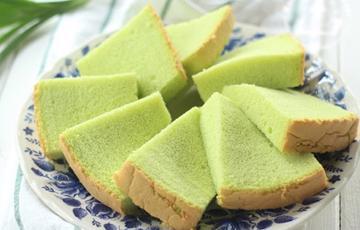 Bánh chiffon lá dứa
