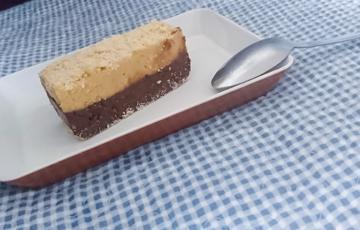 Bánh chocolate đậu phộng không nướng