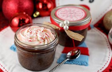 Bánh chocolate Giáng Sinh