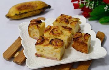 Bánh chuối nướng ngọt thơm