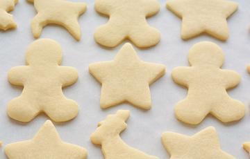 Bánh cookie đường Giáng Sinh đơn giản