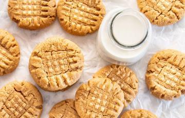 Bánh cookies bơ đậu phộng nướng
