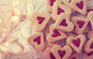 Bánh Cookies cutter trái tim