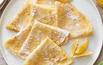 Bánh crepe kiểu Pháp đơn giản