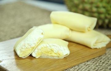 Bánh crepe sầu riêng thơm béo
