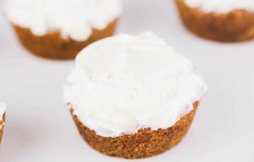 Bánh cupcake cà rốt thơm ngon