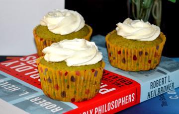 Bánh cupcake trà xanh hấp dẫn