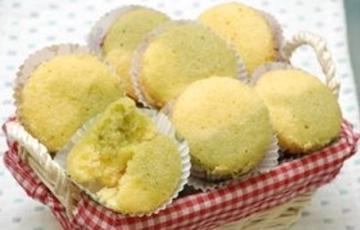 Bánh cupcake vị trà xanh