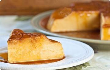 Bánh flan bí đỏ mềm thơm