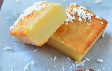 Bánh khoai mì nướng ngọt béo