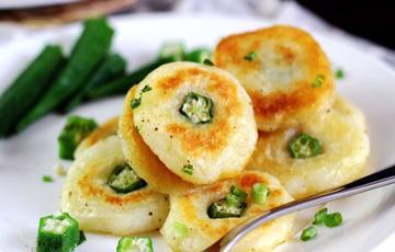 Bánh khoai tây đậu bắp